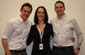 James Fisher, Kelly Hunt and Mark Garside)