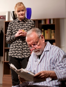 The Father  - Claire Skinner, Kenneth Cranham - Photo credit Simon Annand