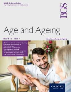 Age&Aging front cover design chosen chosen